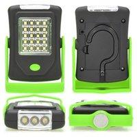 휴대용 랜턴 슈퍼 밝은 23 LED 마그네틱 작업 라이트 포켓 램프 램프 야외 캠핑 Lighting1에 대 한 접는 접는 걸이와 함께 linternas
