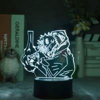 Smart Itadori Yuji Night Light Projector Anime LED 3D ИНТЕРГИИ Nightlight Desk Fample Jujutsu Kaisen Фанаты Подарочные Подарочные Украшения