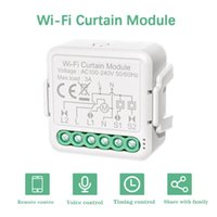 Smart Home Control Tuya WiFi Intelligent Curtain Switch Module Mobilephone APP Remotes Compatible Voice With Alexa Google