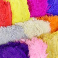 2021 Высокое качество Красивое страусиное перо 40-45 см / 16-18 дюймов U Выбрать цвет Свадебный центр