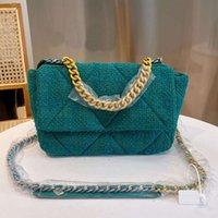 2021 CC 5 color diamond lattice flap chain shoulder bag luxury ladies high quality handbag 25*8*19