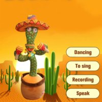 Explosive Internet Celebrities Will Dance and Twist Cactus Creative Toys Duck Music Songs Birthday Gifts Ornaments To Attract Customers