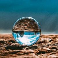Pequeña pelota de cristal 60 mm mujer transparente hombre artes y artesanía Lucky Natural Cristales curativo Piedra Bolas Adornos 7ey K2