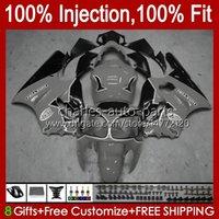 Injection mold OEM For KAWASAKI NINJA ZX 12 R 1200 CC ZX1200C ZX1200 C 2000 2001 Body 2No.144 ZX12R 00 01 ZX 1200 12R 1200CC Bodywork ZX-12R 00-01 ABS Fairing grey black blk