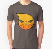 Hombres de manga corta Tshirt Soul Eater Unisex T Shirt Camiseta de las mujeres