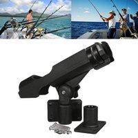 Tiges de pêche à 360 degrés ajustables racks amovibles KAYAK BOAK TENED Porte-tiges Support Outils d'accessoires Polonais SUPPORT TACK