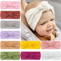 Hair Accessories Baby Turban Headband Twisted Knot Spring Autumn Born Kids Girl Hat Elastic Children Hairband For Girls