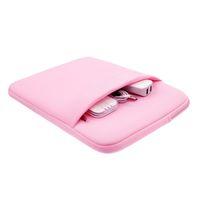 Notebook almofada caso bolso tablet pc manga laptop macio capa