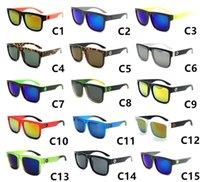 Spy Color Film Outdoor DAZZLING V colourful Colorful Big Blocco Sunglasses 81016