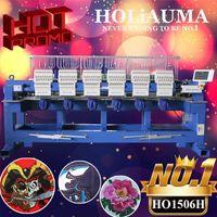 أدوات # 15 الإبر 400 * 460 ملليمتر 6 رئيس آلة التطريز المحوسبة عالية السرعة كاب / شيرت / 3D التجارية