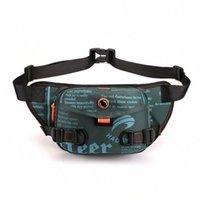 Herren Trend Taille Taschen Street Casual Taille Pack Männliche Brusttasche Telefonbeutel Kopfhörer Hip Hop Bags L2Z3 #