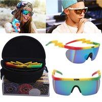 Neff Brand Design Square Maschio guida per uomo Specchio moda occhiali da sole Donne UV400 Oculos
