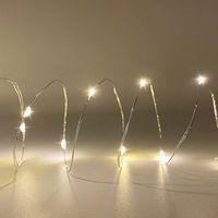 Cuerdas Luces de hadas 30LED 50LED CHEQUE CAMBLE Twinkle Firefly Light Battery Powerd para el dormitorio Fiesta de Navidad Boda Decoración