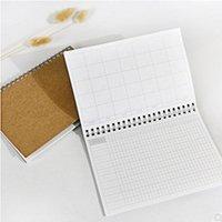 Kraft papel bobina Notebook A5 Planejador Daily Weekly Handbook Time Organizador Organizador Agenda Office Work Programação Escolar Papelaria Escolar