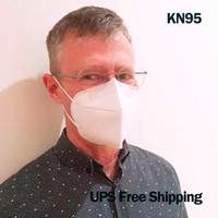 5ply KN95 Yüz Maskesi Yumuşak Dokumasız GB2626 2006 FFP2 Koruyucu,% 95 PM2.5'e, Toksik olmayan ve en hassas cilt için bile uygun