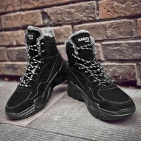 Hiking shoes High Platform Men Shoes Winter Casual Sneakers Scarpe Uomo Lace Up Soft Rubber Hot Top Sports Male 0909