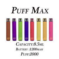 Poy Max 2000 Максимальный чернильный картридж 1200 мАч Батарея 8.5 мл Pods Tipe-Type E Портативный Evporator