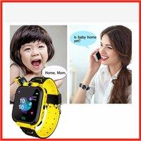 2021 Kids Voice Call Talk Smart Watch Supporto Posizione russa con fotocamera Gioco Life impermeabile Bambini Smartwatch