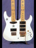 Custom Double Neck Electric Guitar, upgraded pickups and electronics