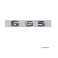 New Chrome ABS Rear Trunk Letters Badge Badges Emblem Emblems Sticker for Mercedes Benz G Class G65 AMG