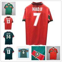 2021 Maroc Ziyech Soccer Jerseys 2122 Benatia Boutaib Boussoufa Belhanda Boufal Hakimi Mazraoui Retro Classique 1998 Hadji Shirt de football
