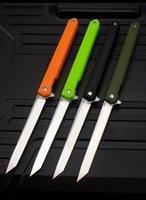 جديد حار بيع m390 ماجيك القلم قابلة للطي سكين في الهواء الطلق سكين مصغرة متعددة الوظائف البرية بقاء التكتيكية سكين مجانا دي إتش إل مجانا
