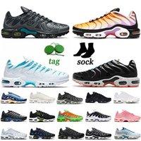 Airs mx زائد tn الاحذية النساء الرجال tns نفسية الثلاثي أسود أبيض أحذية رياضية الأزرق الفراغ الليزر البرتقالي الوردي الثعبان الحفرة الكهربائية الأخضر kaomoji المدربين