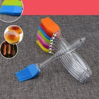 Baking & Pastry Tools Silicone Brush Bakeware BBQ Cake Bread Oil Cream Barbecue Cooking Basting Kitchen Accessories Gadget