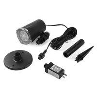 스트링 icoco 4 LED 4W 방수 LED 프로젝터 크리스마스 파티 홈 정원 장식 IP44 도매 드롭 선박