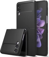 Cases for Samsung Galaxy Z Flip 3,Premium Thin Translucent Hard PC with Non-Slip Grip Protective Phone Cover