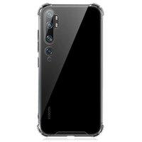 Şeffaf Akrilik Darbeye Dayanıklı Sert PC TPU Clear Telefon Kılıfları Redmi 7A 8A 9A 9C Not 7 8 9 9 S 10 Pro Xiaomi 11 10 S Güçlendirilmiş Köşe Cep Telefonu Kılıfı