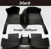 FOR Ford Escape 2020year Custom Car Splicing Floor Mats Waterproof Leather Wear-resistant Non-toxic Tasteless and Environmentally Friendly Foot Mats