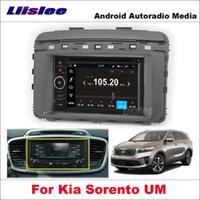 Voiture CD DVD Radio Android pour Kia Sorento UM 2014 ~ 2021 Stéréo GPS STEREO GPS NAVIGATION 2DIN Multimédia Lecteur Player Ensemble de voiture DVD