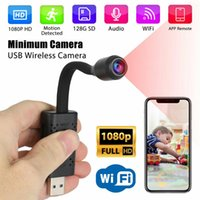 HD Smart Mini Camera Wifi USB Portable Real-time Surveillance IP Camera Wireless Home Support Alarm Function