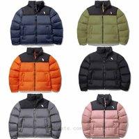 Северная куртка лица 2021 зимний дизайнер классический водонепроницаемый TNF кожаный логотип бомбардировщик пальто куртки мода пальто вниз пухший вариатор колледжа мужские женские мужчины женщины 01