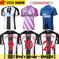 Футбольные майки 20 21 Newcastle United JOELINTON SHELVEY 2020 2021 NUFC ALMIRON SAINT-MAXIMIN Футбольная футболка GAYLE Mens Jersey Kids Kit