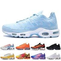 TN Plus SE Erkekler Koşu Ayakkabıları Psişik Mavi 3D Gözlük Deluxe Habanero Kırmızı Erkek Açık Spor Ayakkabı Boyutu 40-46
