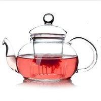 1 ADET Yeni Pratik Dayanıklı Şişe Fincan Cam Çaydanlık Demlik Çay Yaprak Ile Bitkisel Kahve 400ml 249 S2