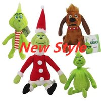 """High Quality Cotton 11.8"""" 30cm How the Grinch Stole Christmas Plush Toy Animals For Child Holiday Gifts Wholesale"""
