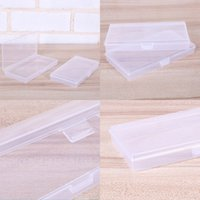 Прямоугольный ящик для хранения блокировки SOWOIDED CASE Пластиковый инструмент Практичная Маленькая Женщина Человек Прозрачный Упаковочный Организатор Спальня Поставки 0 56QH K2
