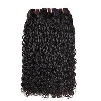Высокое качество Pixie Cut Дважды нарисованные человеческие волосы бразильские реми Деверися волосы Weaves Negizy Curl Funmi волосы утром 10-22 дюйма