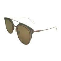 Designer Ray Sunglasses Venda 2021 Composit a Marca Rodada Mulheres Óculos Homens Rimless Moda Vermelho 2021 Vintage Retro Zonnebril Dames Sunglases