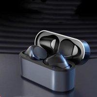 Fones de ouvido sem fio branco Chip Transparência Metal Renomear GPS Carregando Fone de Ouvido Bluetooth Fone de ouvido Geração 2/3 Detecção In-Aure para celular