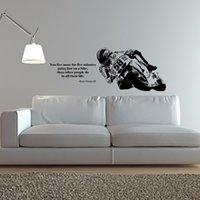 Yoyoyu 벽 비닐 아트 홈 장식 스티커 자전거 오토바이 스포츠 데칼 키즈 룸 장식 제거 가능한 포스터 ZX019 210310