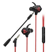Słuchawki douszne douszne - 3,5 mm Przewodowe Earbuds z mikrofonem Super Bas na telefon komórkowy iPod PC Słuchawki Earbud