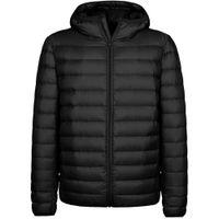 Lüks Marka erkek Aşağı Ceket Erkekler Kapşonlu Aşağı Ceket Hafif Kış Kirpi Ceket Sıcak