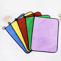 Microfiber Household Kitchen Towel Anti-Grease Non-stick Oil Wiping Rags Super Absorbent Car Cleaning Cloth Soft Washing Dish Towels 30*40CM 12*16INCH JY0763