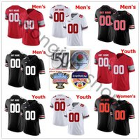 NCAA Football Ohio State Buckeyes College 12 Cardale Jones Jersey 3 Michael Thomas 5 Braxton Miller Jt Barrett Limited Nome personalizado