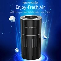 Car Air Freshener Portable Purifier UV Light Purifiers Cleaner With HEPA Filter For Home
