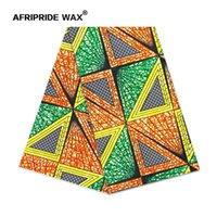 Tissu Africain Ankara Haute Qualité Grossiste Fleur africaine 100% coton Véritable Cire Brocart Tissu pour vêtements A18F0699